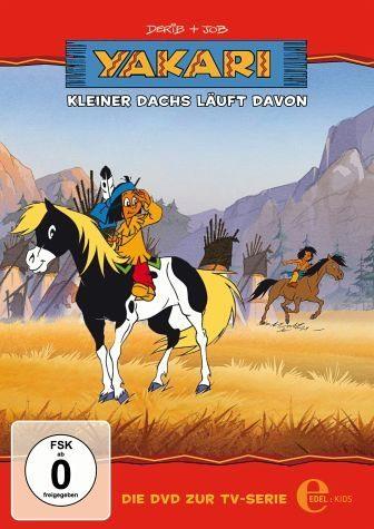 DVD »Yakari - Kleiner Dachs läuft davon«
