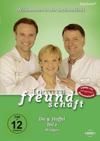 DVD »In aller Freundschaft - Die 09. Staffel, Teil...«