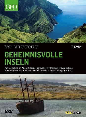 DVD »360° - GEO Reportage: Geheimnisvolle Inseln (3...«