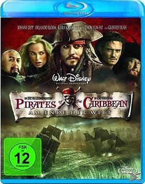 Blu-ray »Pirates of the Caribbean, Am Ende der Welt, 1...«