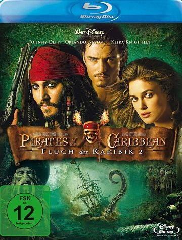 Blu-ray »Pirates of the Caribbean - Fluch der Karibik 2«
