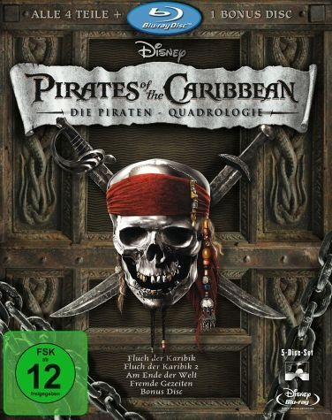 Blu-ray »Pirates of the Caribbean - Die...«