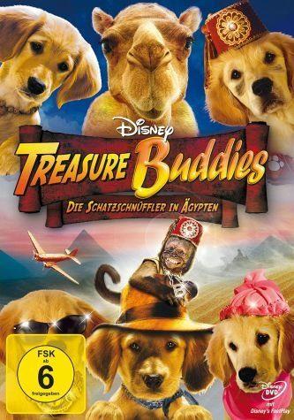 DVD »Treasure Buddies - Die Schatzschnüffler in...«