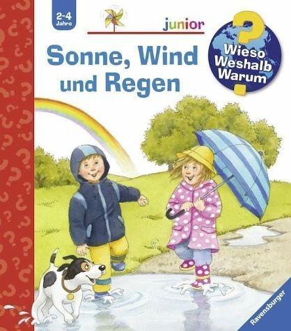Buch mit Papp-Einband »Sonne, Wind und Regen / Wieso? Weshalb? Warum?...«