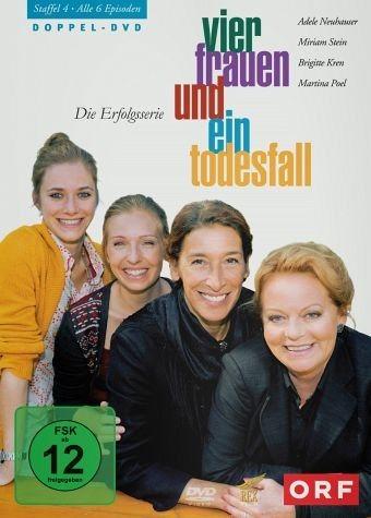 DVD »Vier Frauen und ein Todesfall - Staffel 4 (2...«
