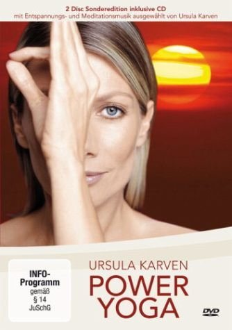 dvd power yoga mit ursula karven 2 dvds kaufen otto. Black Bedroom Furniture Sets. Home Design Ideas