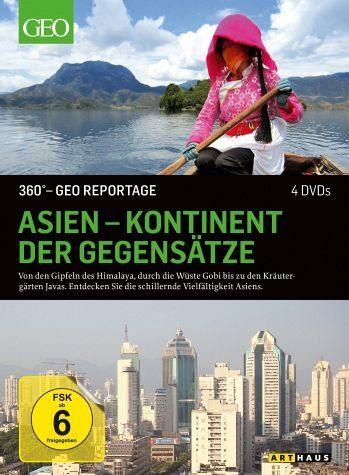 DVD »360° - GEO Reportage: Asien - Kontinent der...«