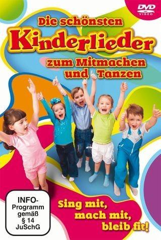 DVD »Die schönsten Kinderlieder zum Mitmachen & Tanzen«