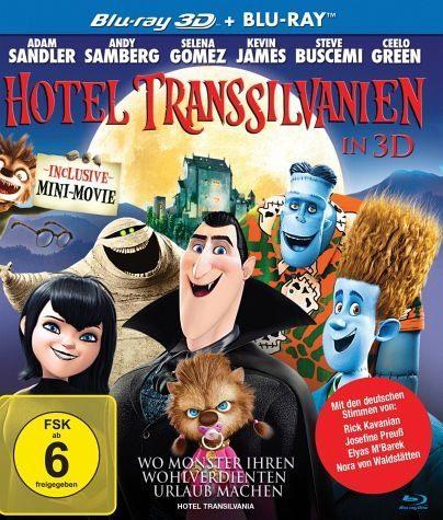 Blu-ray »Hotel Transsilvanien (Blu-ray 3D, + Blu-ray...«