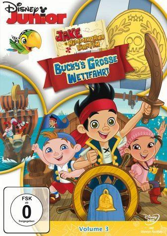 DVD »Jake und die Nimmerland Piraten - Buckys große...«