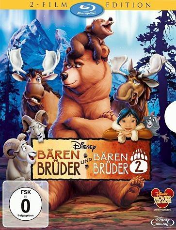Blu-ray »Bärenbrüder / Bärenbrüder 2«