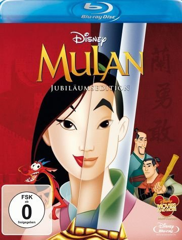 Blu-ray »Mulan (Jubiläumsedition)«