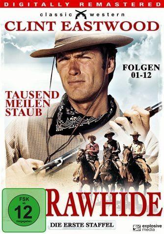 DVD »Rawhide - Tausend Meilen Staub, Staffel 1,...«