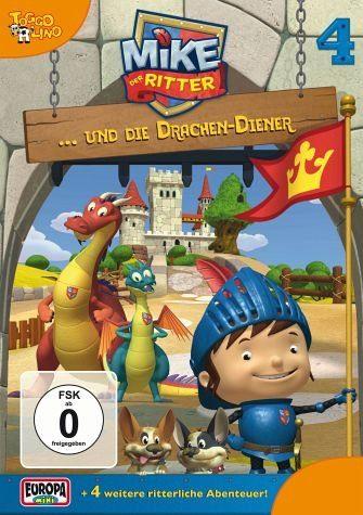DVD »Mike, der Ritter... und die Drachen-Diener«