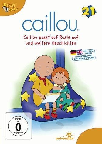 DVD »Caillou 21 - Caillou passt auf Rosie auf und...«