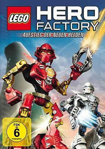DVD »Lego Hero Factory - Aufstieg der neuen Helden«
