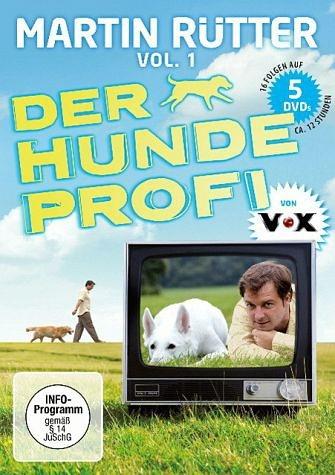 DVD »Martin Rütter - Der Hundeprofi, Vol. 1 (5 Discs)«