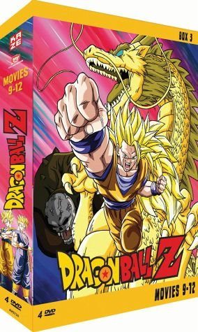 DVD »Dragonball Z - Movies 9-12 (4 Discs)«