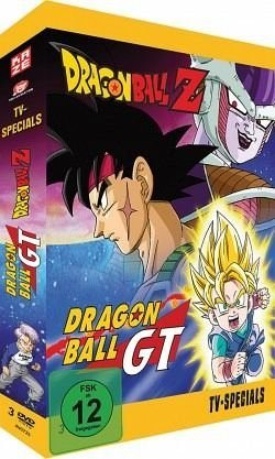 DVD »Dragonball Z + GT Specials-Box (3 Discs)«