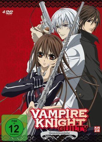 DVD »Vampire Knight Guilty - Gesamtausgabe (4 Discs)«