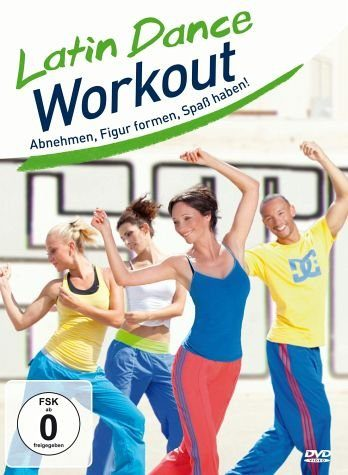 DVD »Latin Dance Workout - Abnehmen, Figur formen,...«