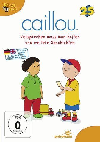 DVD »Caillou 25 - Versprechen muss man halten und...«