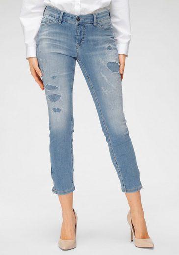 MAC 7/8-Jeans »Dream Chic Destroyed« Unterlegte Destroyed-Effekte