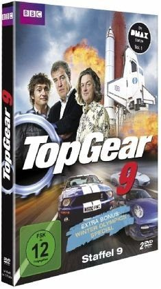DVD »Top Gear - Staffel 09 (2 Discs)«