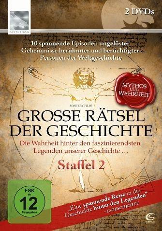 DVD »Große Rätsel der Geschichte - Staffel 2 (2 Discs)«