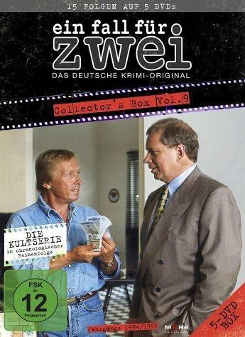 DVD »Ein Fall für Zwei - Collector's Box 9 (5 Discs)«