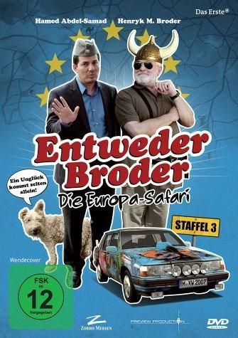DVD »Entweder Broder - Die Europa-Safari: Staffel 3«