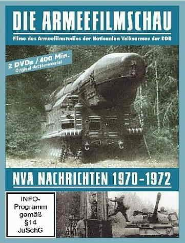 DVD »Die Armeefilmschau - NVA-Nachrichten 1970-1972...«