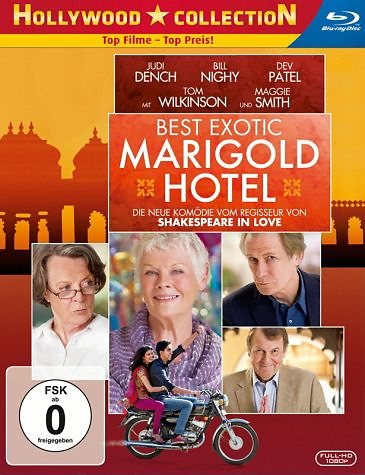 Blu-ray »Best Exotic Marigold Hotel«