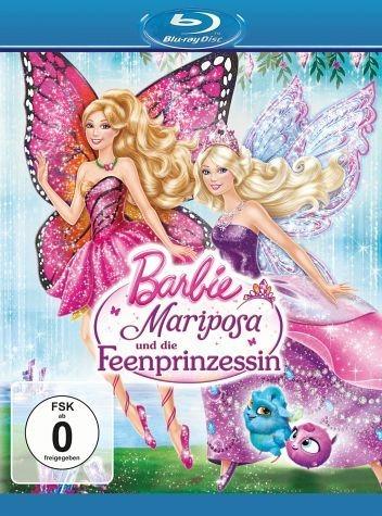 Blu-ray »Barbie - Mariposa und die Feenprinzessin«