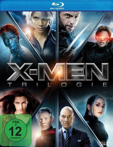Blu-ray »X-Men Trilogie (4 Discs)«
