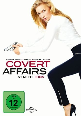DVD »Covert Affairs - Staffel eins (3 Discs)«