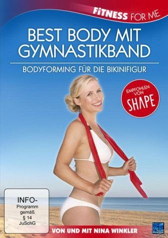 DVD »Nina Winkler - Fitness for me - Best Body mit...«