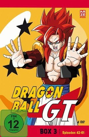 DVD »Dragonball GT - Box 3 (4 Discs)«