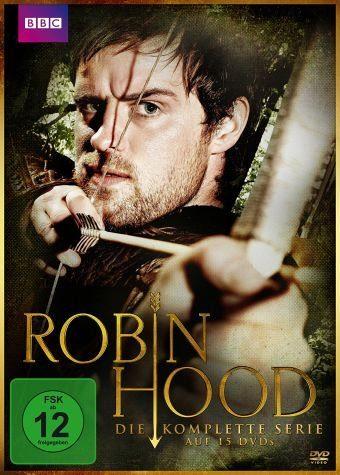 DVD »Robin Hood - Die komplette Serie (15 Discs)«
