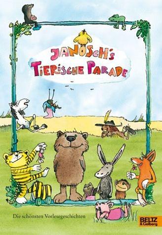 Gebundenes Buch »Janoschs tierische Parade«