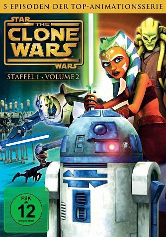 DVD »Star Wars: The Clone Wars - Staffel 1, Vol. 2«