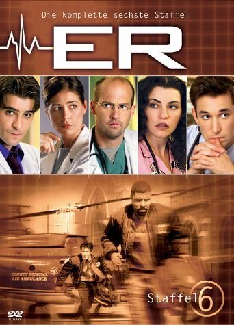 DVD »ER - Emergency Room, Staffel 06 (6 DVDs)«