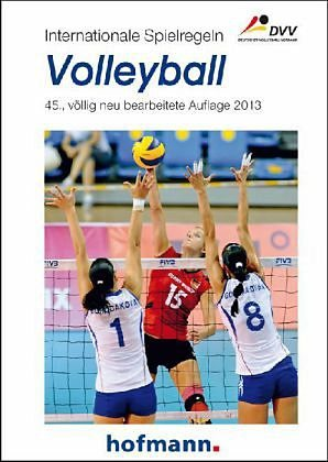 Broschiertes Buch »Internationale Spielregeln - Volleyball«