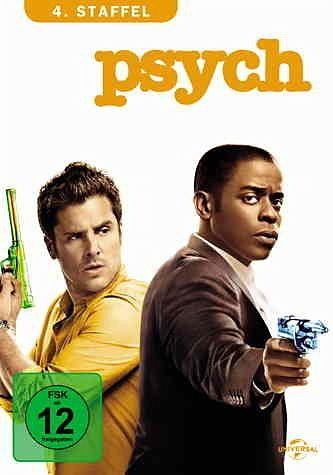 DVD »Psych - 4. Staffel (4 Discs)«