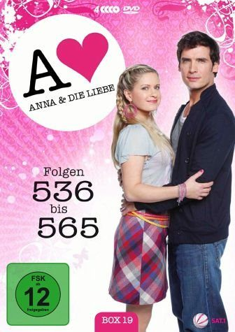 DVD »Anna und die Liebe - Box 19, Folgen 536 - 565...«