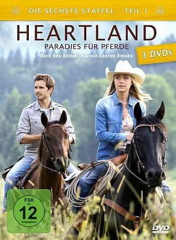 DVD »Heartland - Paradies für Pferde, Staffel 6.1...«