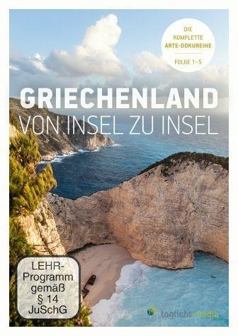DVD »Griechenland - Von Insel zu Insel, Folge 1-5...«