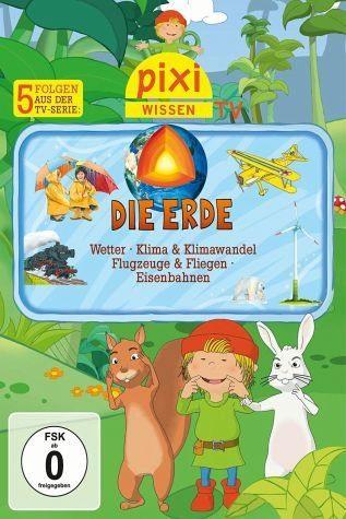 DVD »Pixie Wissen TV - Die Erde«