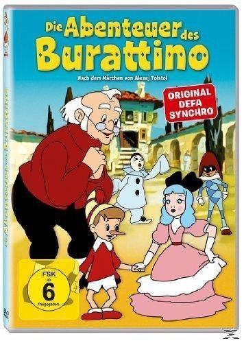 DVD »Die Abenteuer des Burattino«