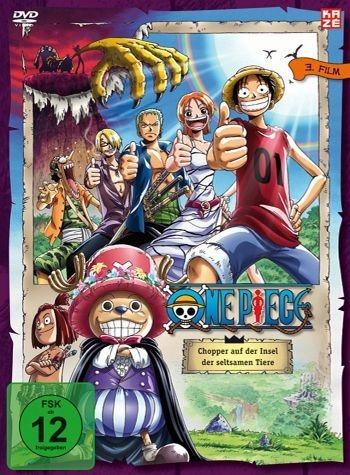 DVD »One Piece - Chopper auf der Insel der...«
